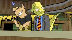 'JFC' Flash animation parodies Tom Cruise